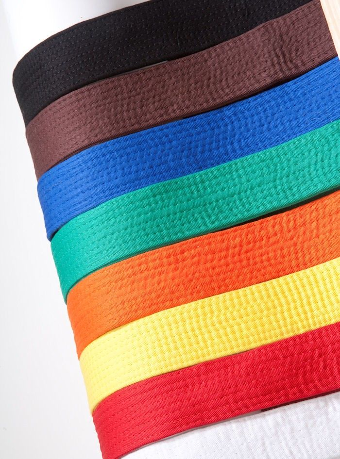 Ruston Judo Lincoln Belts