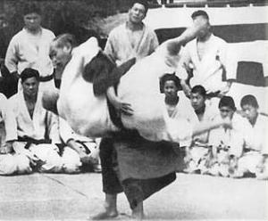 jigoro kano throw